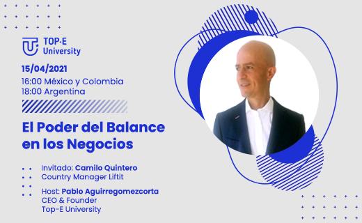 Camilo Quintero- El poder del balance en los negocios